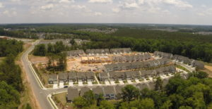 Amberly Town Center Aerial 1