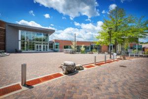 UNC Asheville Highsmith Union Exterior Far Exterior