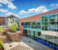 UNC Asheville Highsmith Union Exterior Back Exterior