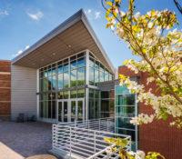 UNC Asheville Highsmith Union Exterior Entrance