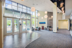 UNC Asheville Highsmith Union Interior Lobby