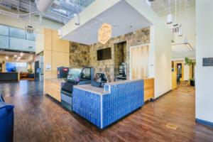 UNC Asheville Highsmith Union Interior Cafe