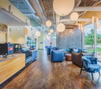 UNC Asheville Highsmith Union Interior Cafe Lobby