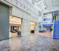 UNC Asheville Highsmith Union Interior Stairwell