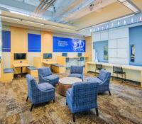 UNC Asheville Highsmith Union Interior Meeting Areas