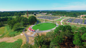 NCMA Park Aerial Far