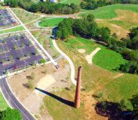 NCMA Park Expansion Smokestack