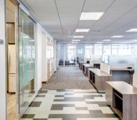 Barnhill Raleigh Office Paving Hallway