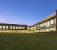 Innovative High School Back Exterior Long