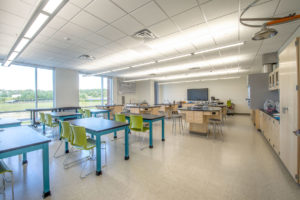 Innovative High School Classroom Lab