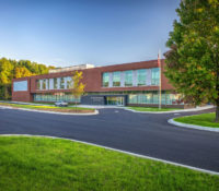 Innovative High School Exterior Front Drive