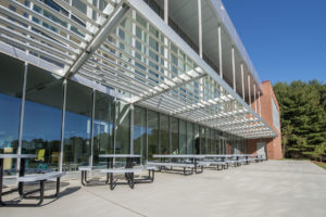 Innovative High School Exterior Tables