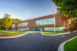 Innovative High School Front Exterior