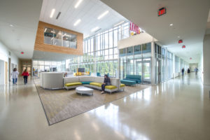 Innovative High School Lobby
