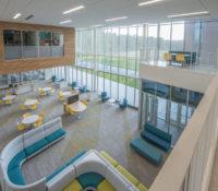 Innovative High School Upstairs View