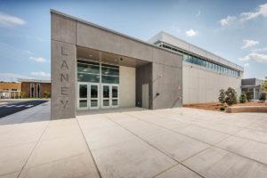 Laney High School Gym Exterior