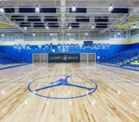 Laney High School Gym Floor MJ
