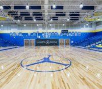 Laney High School Gym Floor MJ