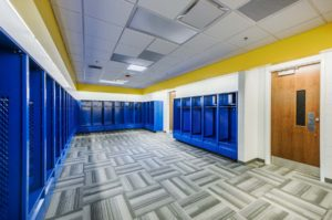 Laney High School Locker Room
