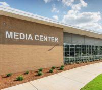 Laney High School Media Center Exterior