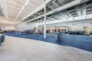 Laney High School Media Center Interior