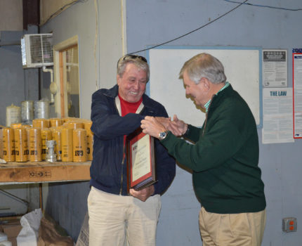 Ed Morgan Celebrates 55 Years with Barnhill