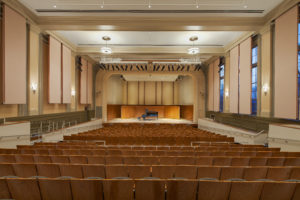 UNC Hill Hall Auditorium One Point