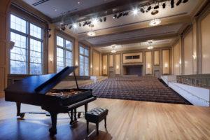 UNC Hill Hall Auditorium Piano