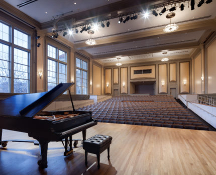 UNC Hill Hall Auditorium Piano