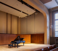 UNC Hill Hall Auditorium Stage