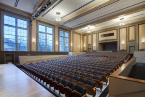 UNC Hill Hall Auditorium to Back