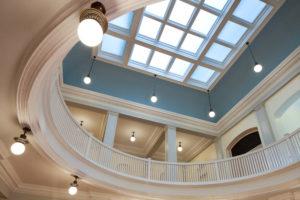UNC Hill Hall Rotunda Laylight