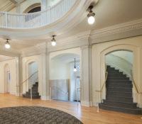 UNC Hill Hall Rotunda Stairs