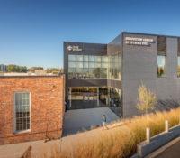 Optimist Hall Duke Energy Charlotte NC Exterior Glass Wall