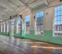 Optimist Hall Duke Energy Charlotte NC Interior Windows