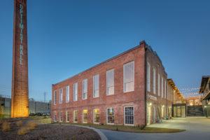 Optimist Hall Duke Energy Charlotte NC Exterior Side