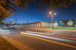Optimist Hall Duke Energy Charlotte NC Exterior Street View