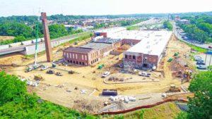 Tompkins Hall In Progress