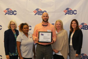 Barnhill Honored with Carolinas ABC STEP Award
