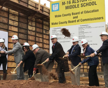 Alston Ridge Groundbreaking