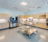 Greenville Utilities Commission Operations Center Fully Functional Kitchen