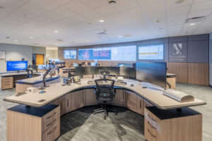 Greenville Utilities Commission Operations Center Command Center