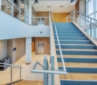 Greenville Utilities Commission Operations Center Interior Stair with Daylighting