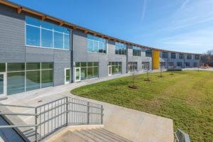 Edneyville Elementary School Exterior Courtyard