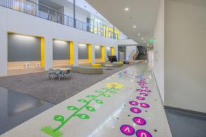 Edneyville Elementary School Lobby Tiles