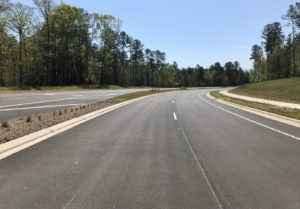 McCrimmon Parkway Four Lane Divided Highway in Morrisville, NC