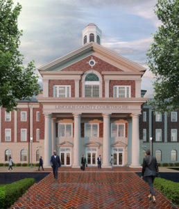 Lincoln County Courthouse Exterior Rendering Front