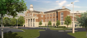 Lincoln County Courthouse Exterior Rendering Side