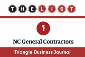 TBJ Top Contractors in NC